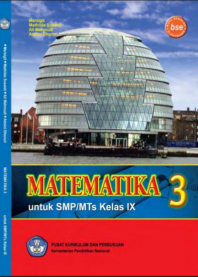 Download Buku Siswa KTSP SMP dan MTs Kelas 9 Matematika 3