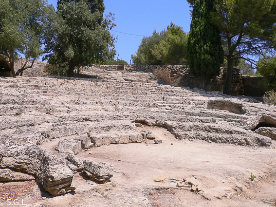 Ciudad romana de Pollentia en Mallorca