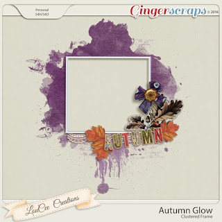 autumn glow from loucee creations