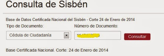 certificado dnp sisben