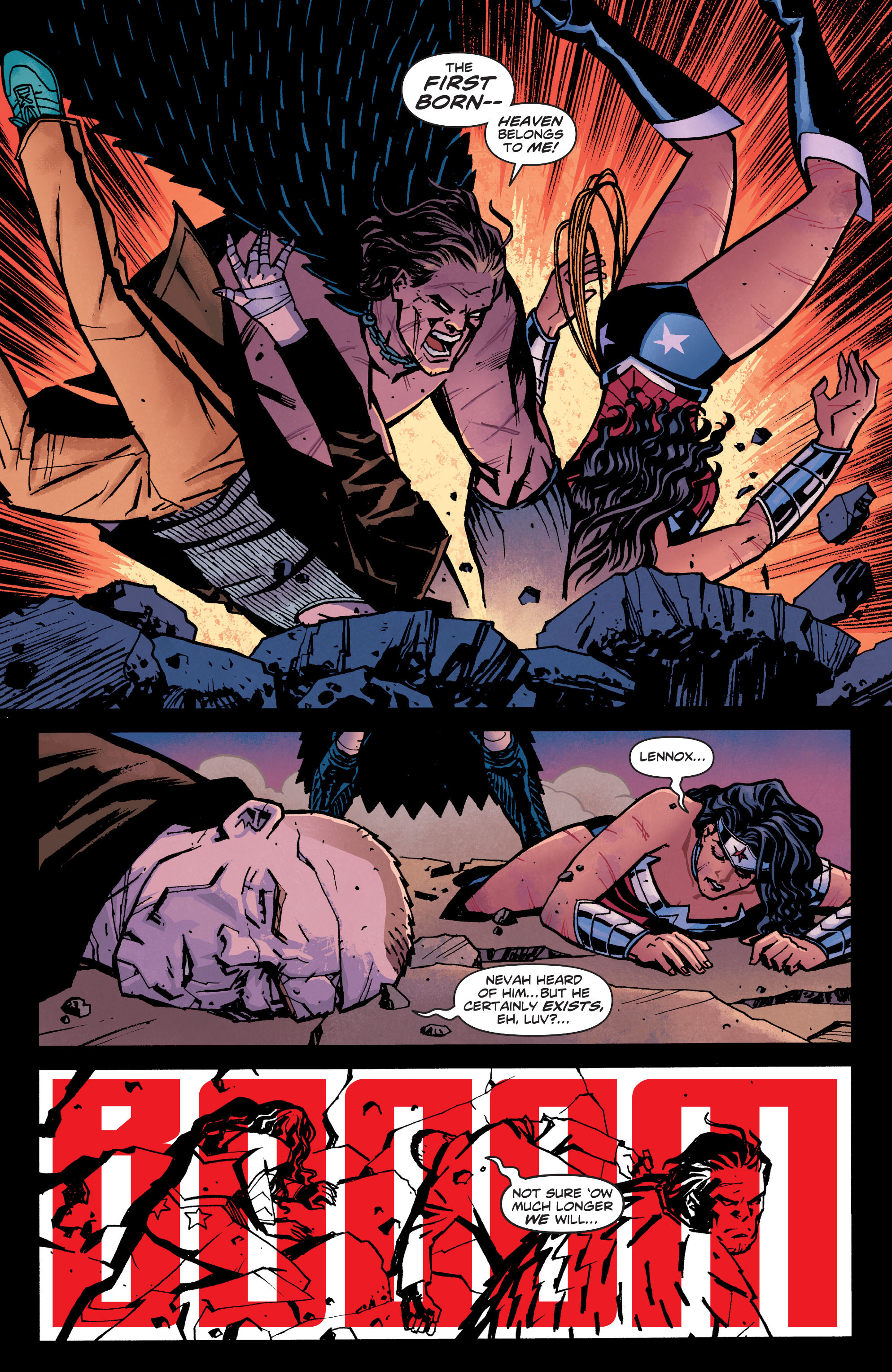 Read online Wonder Woman (2011) comic -  Issue #21 - 10