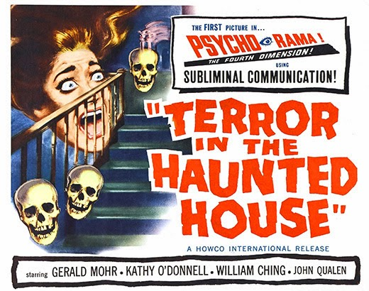 Poster - Terror in the Haunted House (1958)