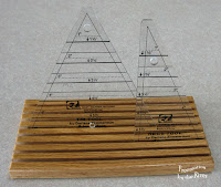 Oak ruler holder at Freemotion by the River