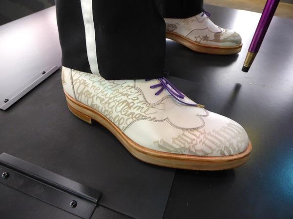 Suicide Squad Joker brogue shoes