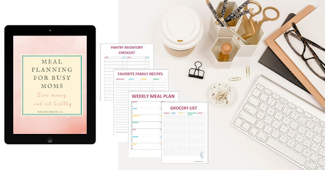 Meal Planning for busy moms with picky eaters ebook + printable
