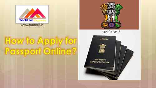 How to Apply for Passport Online?