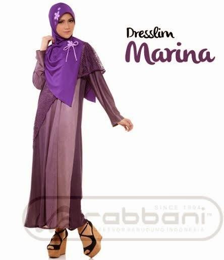 Koleksi Model Baju Muslim Rabbani Terbaru 2015