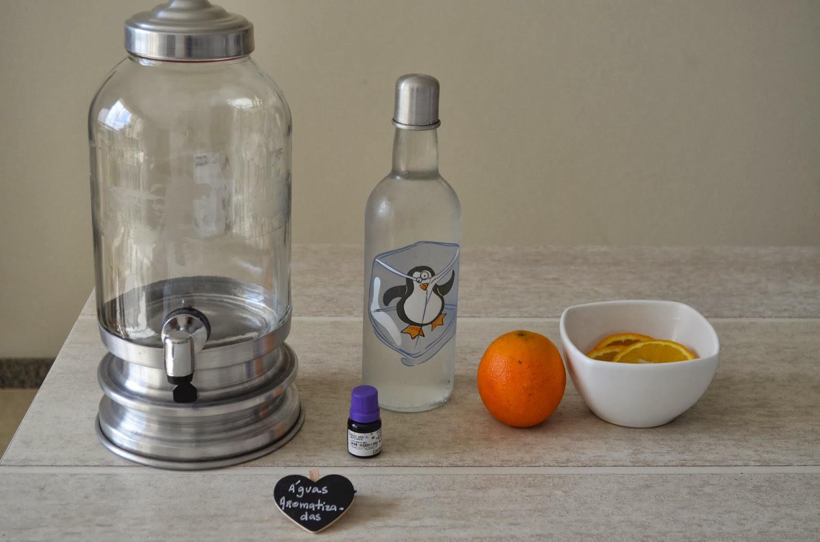 tutorial águas aromatizadas
