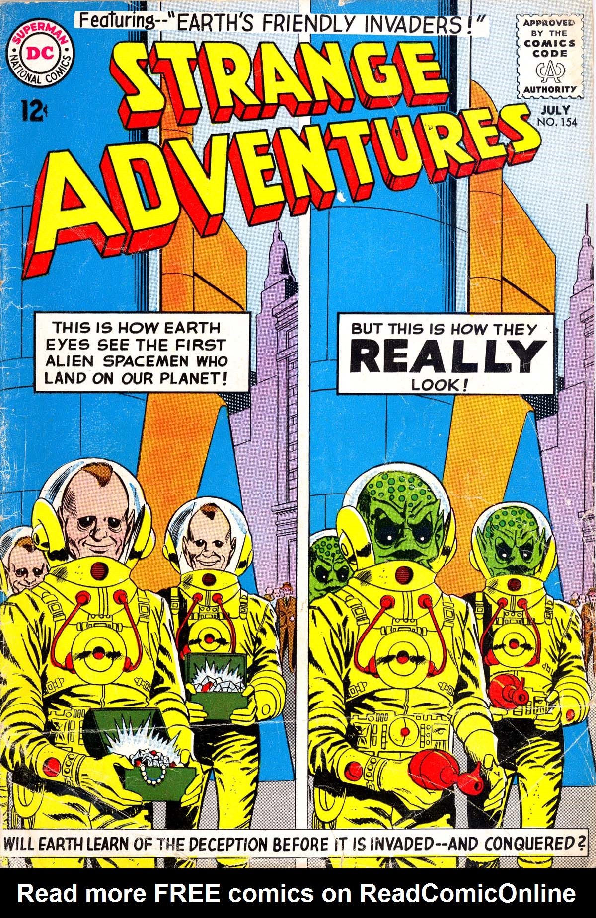 Strange Adventures (1950) issue 154 - Page 1
