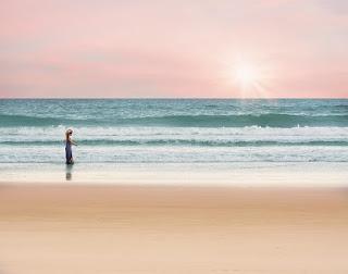 Gambar Pemandangan Pantai Fatkauyon di Kepulauan Sula