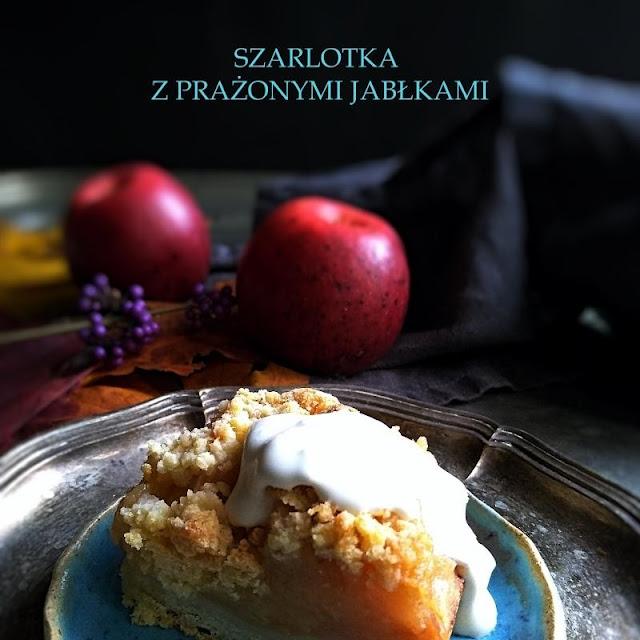Szarlotka z prażonymi jabłkami