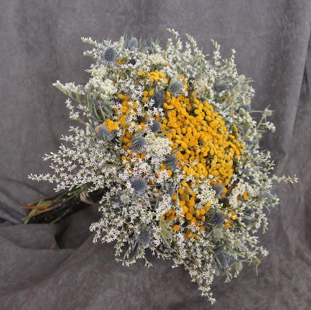 svadobná kytica jesenná