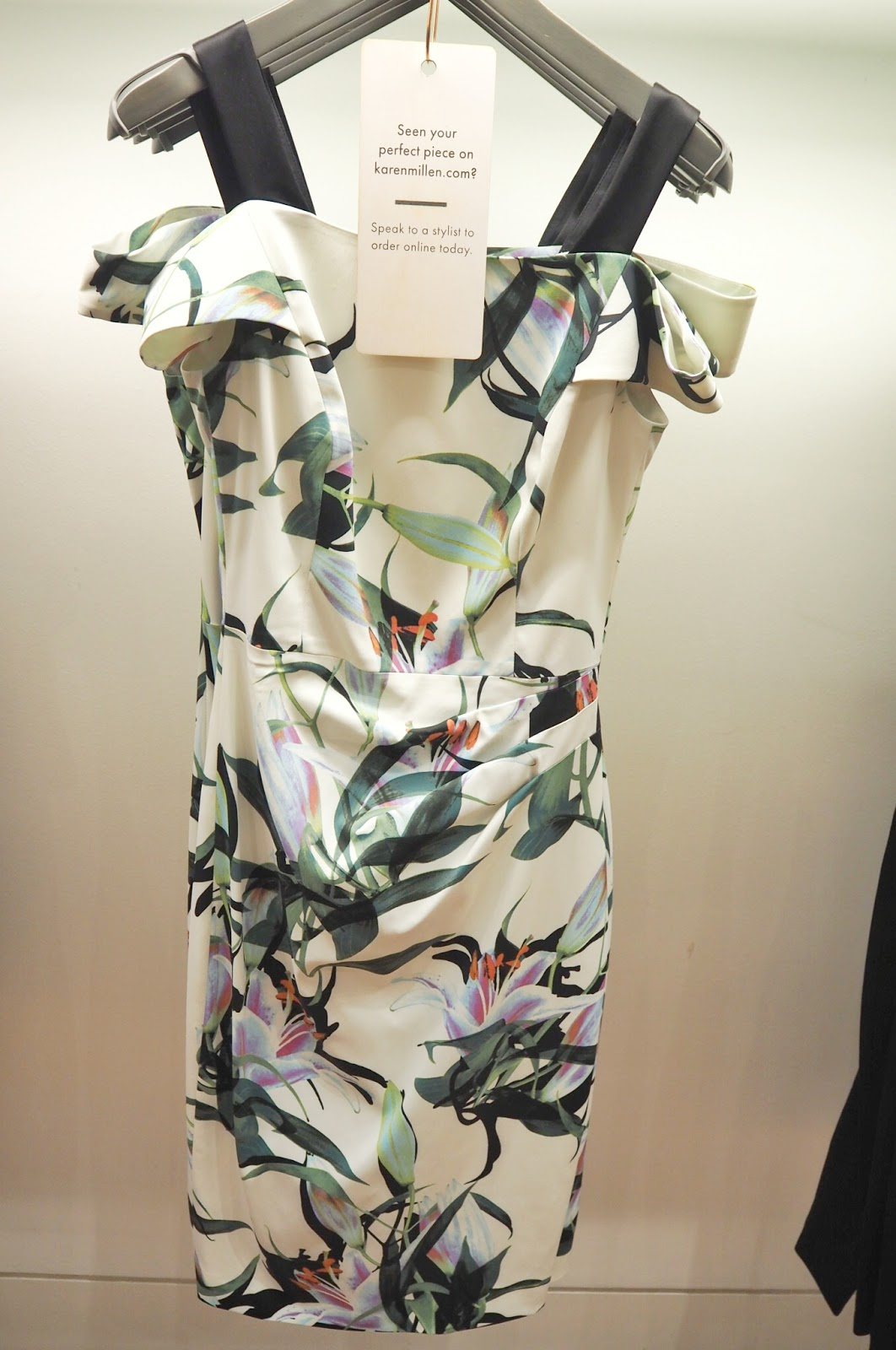Karen Millen - Lily Print Pencil Dress