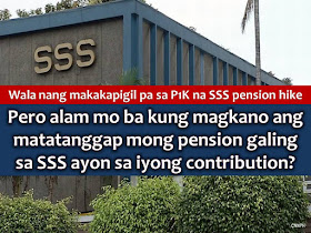 Now that Malacañang has already signed the P1,000 pension increase for around two million Social Security System (SSS) pensioner, do you know how much is your pension in case you retire? As a member of SSS, it is important to know how much you will get after many years of giving your contributions to the agency. SSS Chairman Amado Valdez: Dagdag P1,000 sa SSS pensioners inaprubahan na ng Malacañang. Dagdag, retroactive mula January 2017.