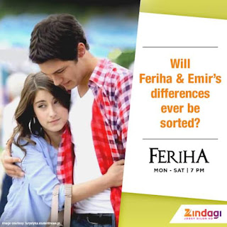 'Feriha Season 3' Zindagi Tv Serial Wiki Story,Cast,Song, Promo,Timing,Images