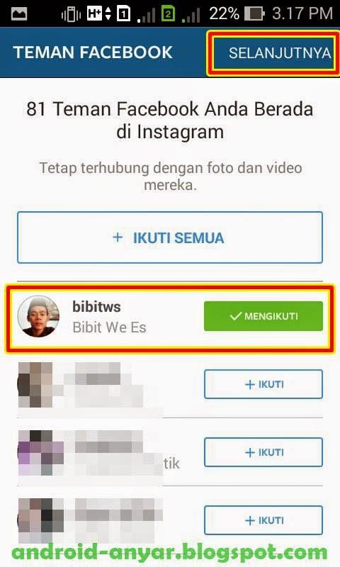 Cara follow mengikuti Instagram cepat