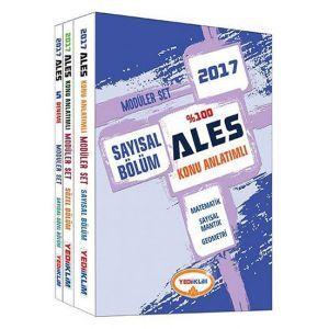 Yediiklim Yayıncılık ALES %100 Konu Anlatımlı Modüler Set (2017)
