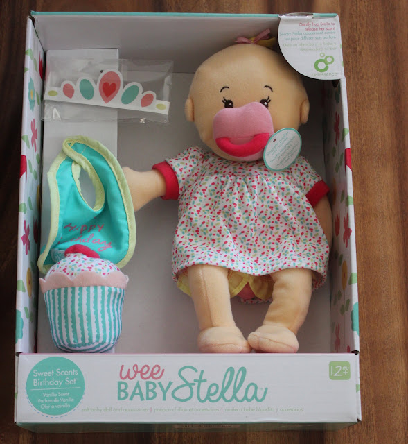Review of Wee Baby Stella Sweet Scents Birthday Set