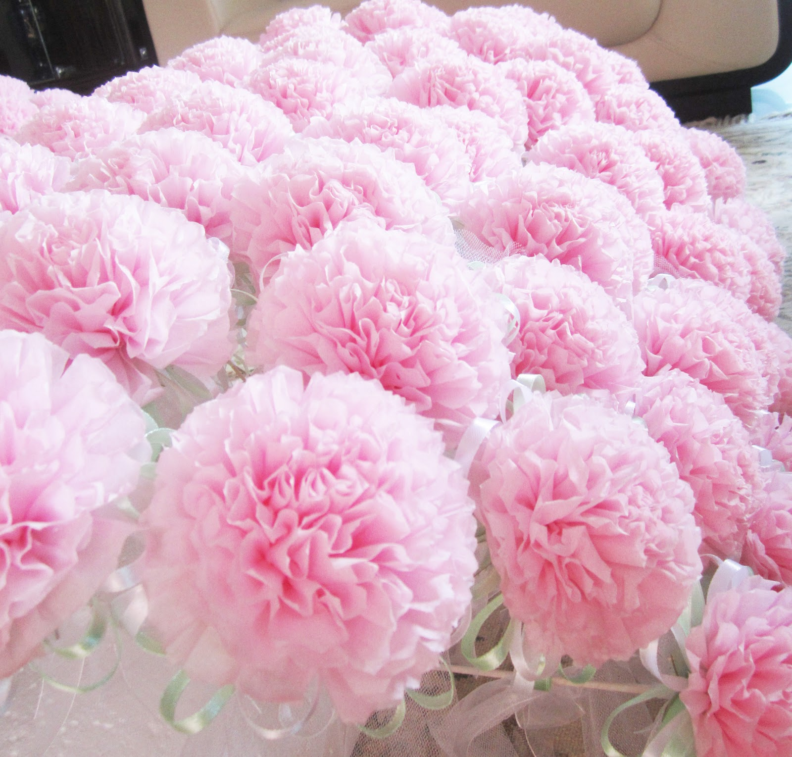 Oh Pretty Please: Tissue Flower Bunga Telur