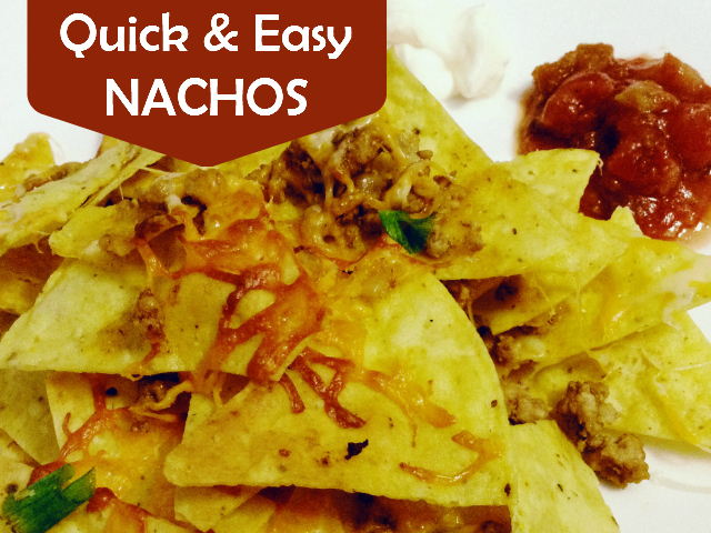 Nachos, Quick and Easy, Shopease Foods