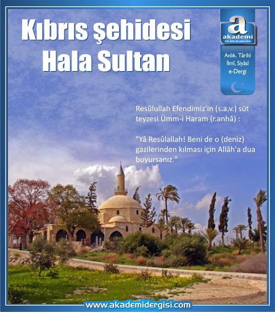 Kıbrıs şehidesi Hala Sultan