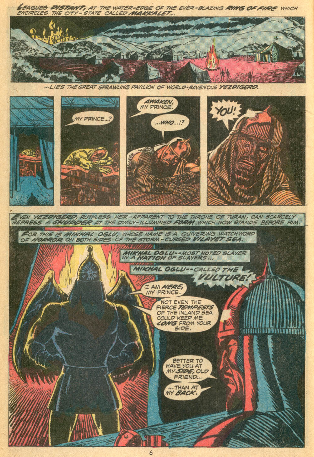 Conan the Barbarian (1970) Issue #23 #35 - English 6