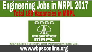Engineering Jobs in MRPL 2017 - Apply Online for 189 Technician Apprentice Vacancies - image Engineering%2BJobs%2Bin%2BMRPL on http://wbpsconline.org