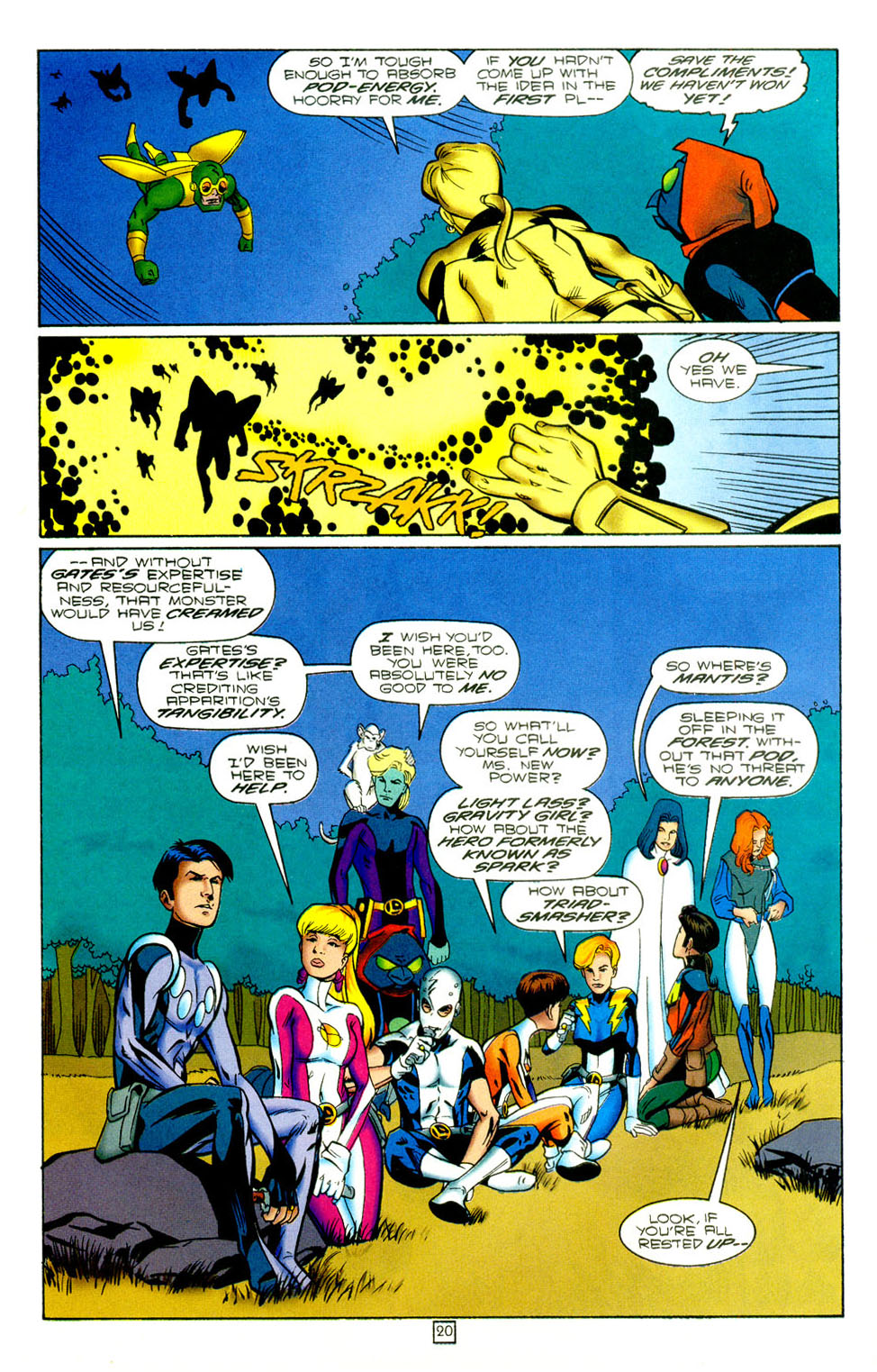 Legion of Super-Heroes (1989) 97 Page 19