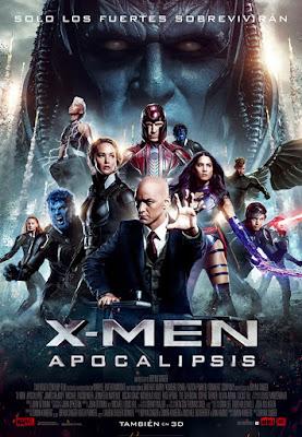 Póster en español de X-Men. Apocalipsis