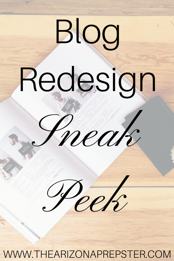 Blog Redesign Sneak Peek