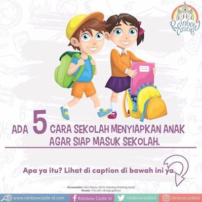 Ada 5 Cara Sekolah Menyiapkan Anak Agar Siap Masuk Sekolah