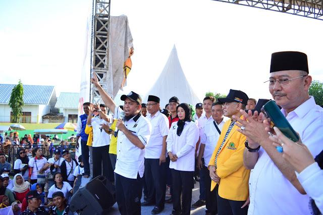 MK Tolak Gugatan Pasangan REDI, Pasangan Eldin dan Akhyar Sah Menang !
