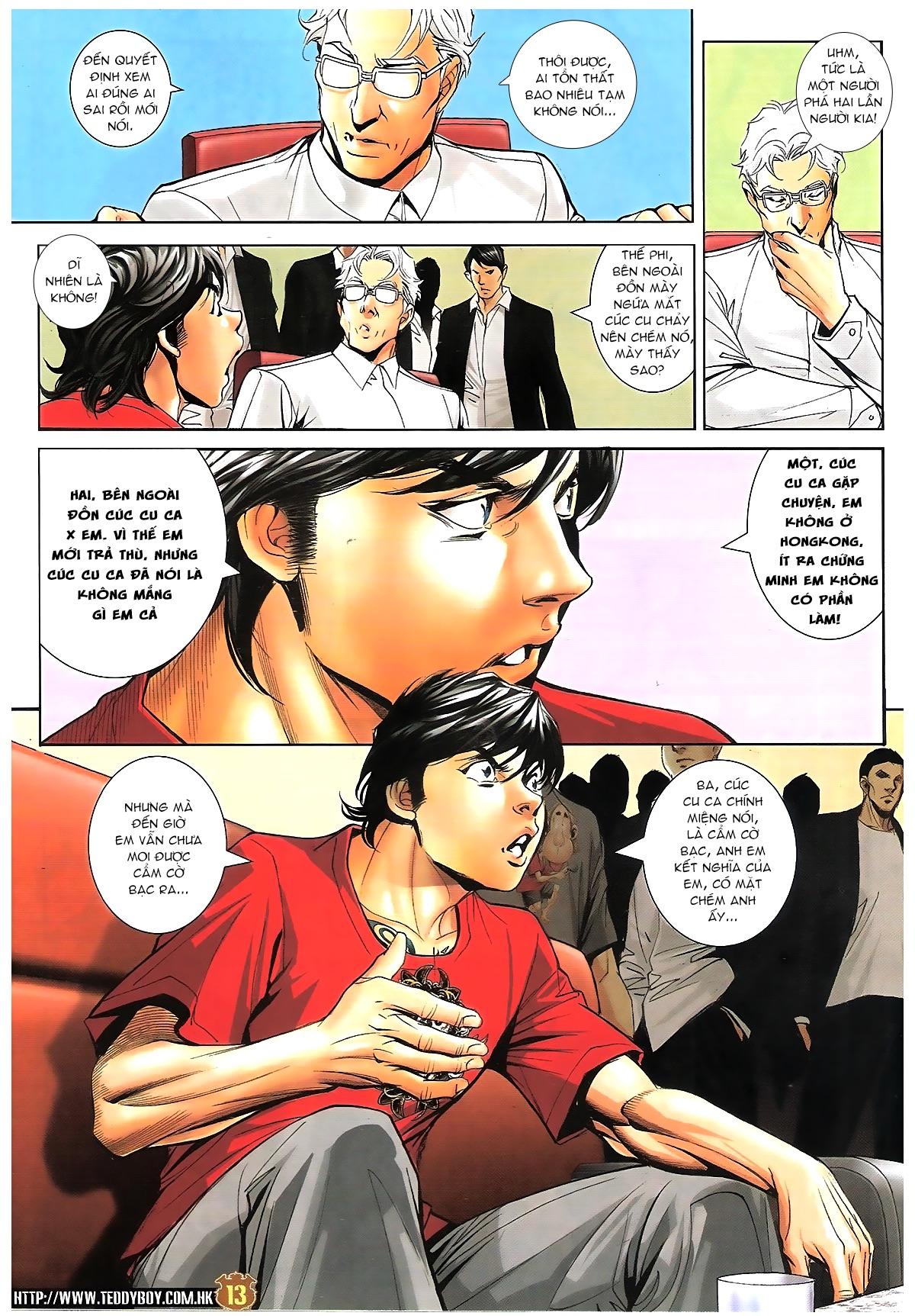 Người Trong Giang Hồ - Chapter 1620: Đàm phán bất thường - Pic 12