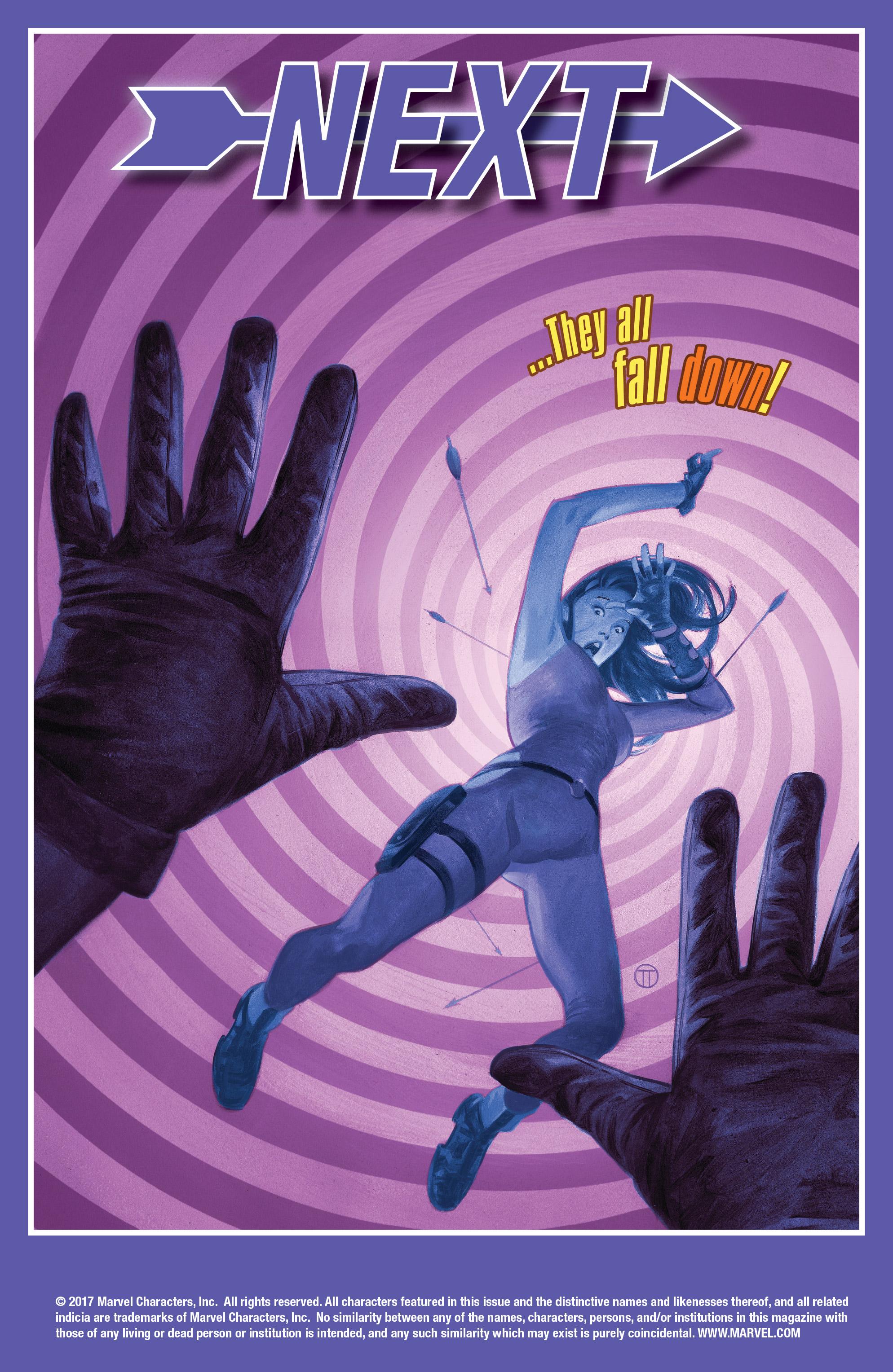 Read online Hawkeye (2016) comic -  Issue #7 - 22