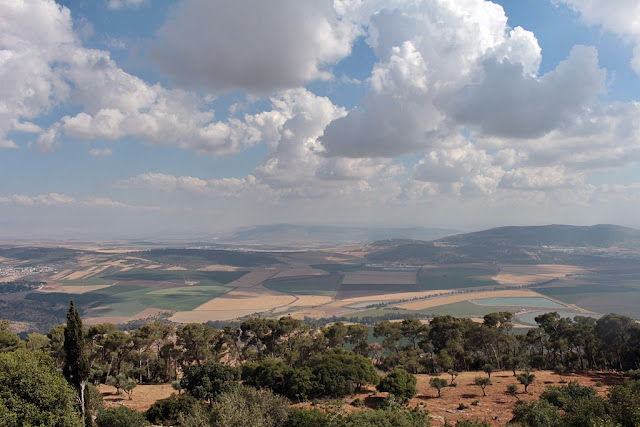 View from Mount Tabor