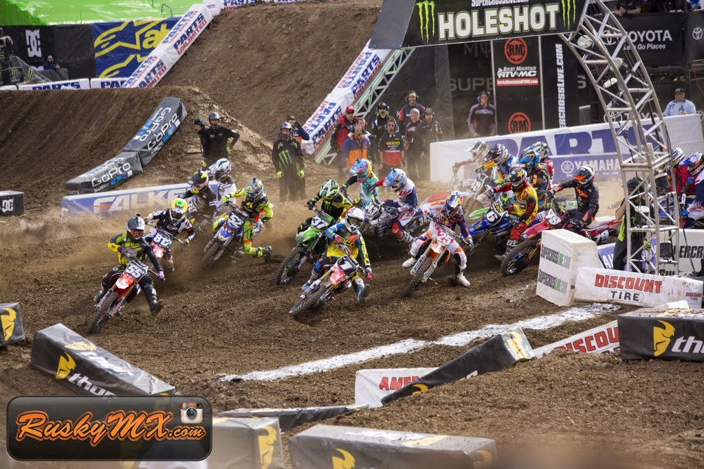 250 Main Event Start Metlife SX 2015