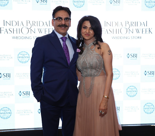 Mrs & Mr. Manoj and Vandy  Mehra Founder SBJ