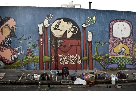 Graffiti Art By Iskor Jayce O Yesta
