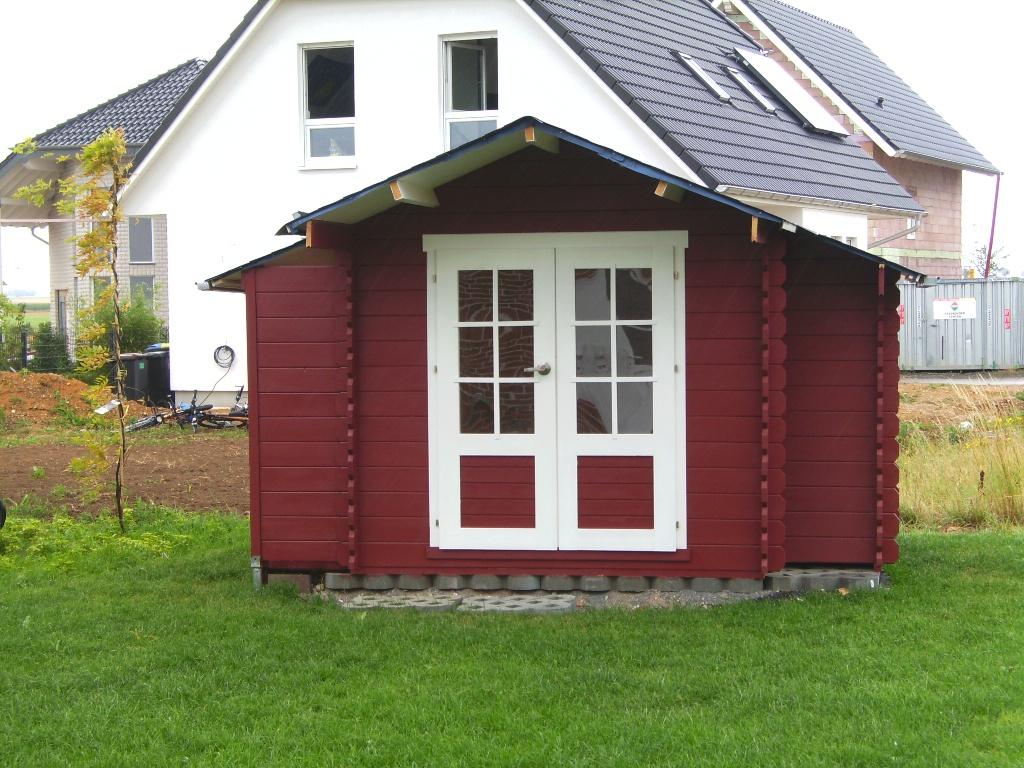 Gartenhaus trschloss einbauen awesome gartenhaus wolff spessart ferienhaus mit veranda with - Gartenhaus ausbauen ...