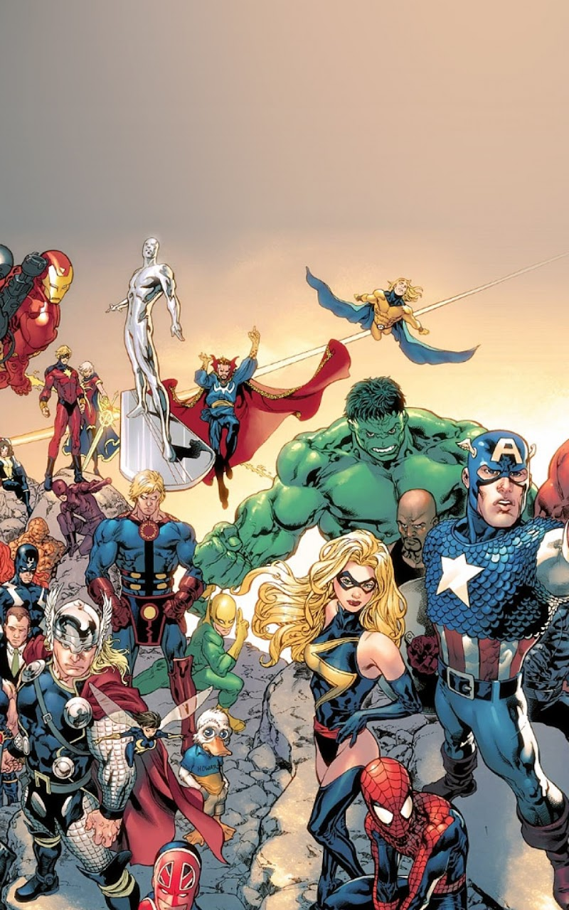 Galaxy Note HD Wallpapers: Marvel Comic Book Characters iOS7 Galaxy Note HD Wallpaper