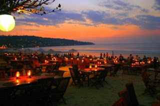 the packages is very romantic sunset dinner