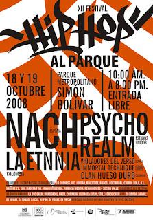 Hip Hop Al parque 2008