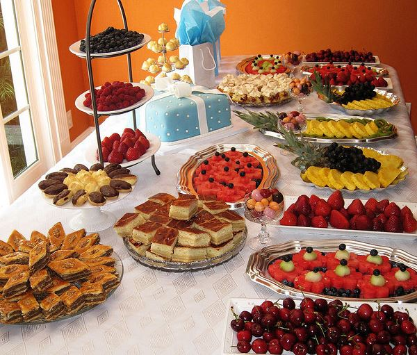 Wedding Shower Food Ideas