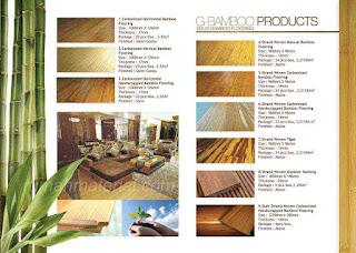 Produk Solid Bamboo Flooring GBAMBOO