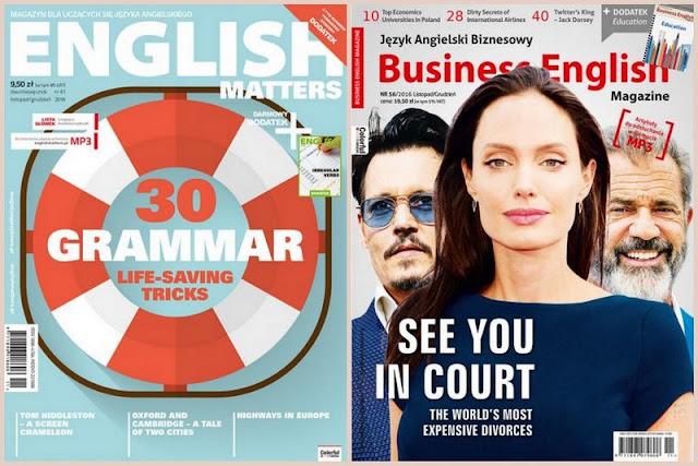 English Matters nr 61/2016 i Business English Magazine nr 56/2016