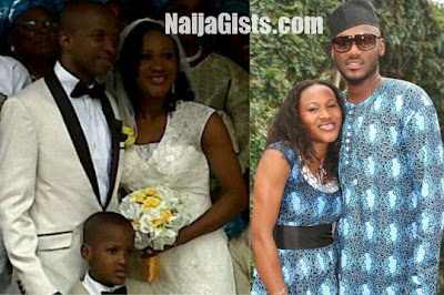 2face idibia sunmbo ajaba wedding