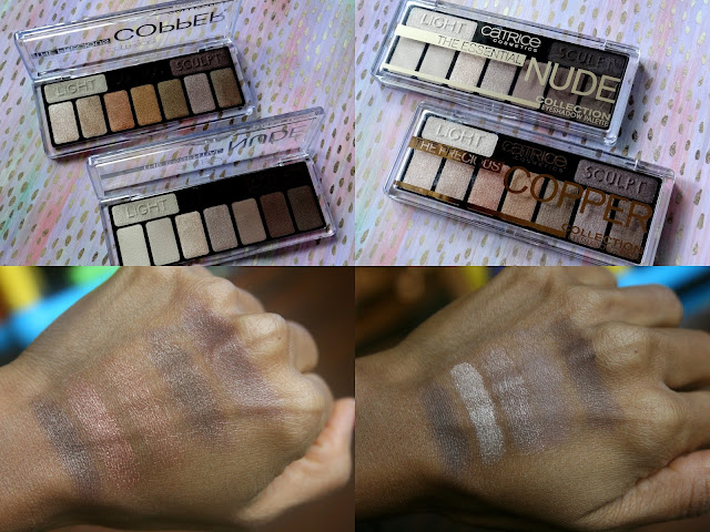 Catrice' The Essential Nude and Precious Copper Eyeshadow Palettes