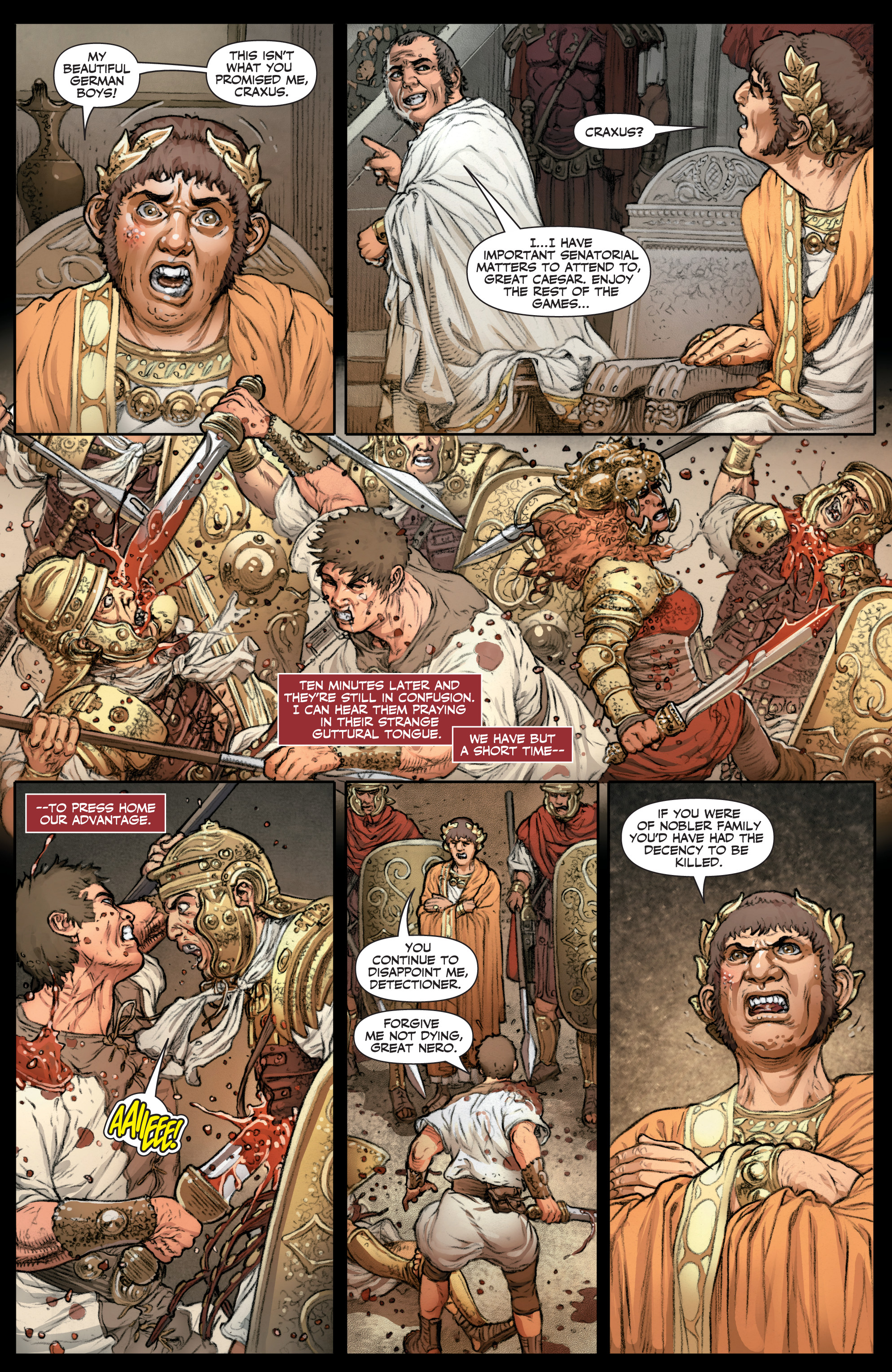 Read online Britannia: We Who Are About To Die comic -  Issue #3 - 11