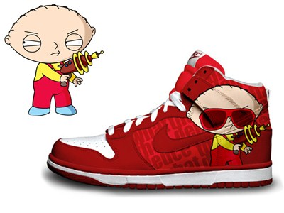 Stewie Griffin Nike Shoes