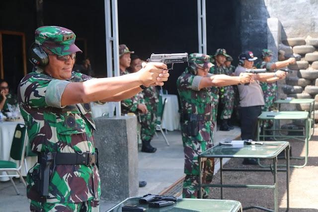 Panglima Divisi Infanteri 1 Kostrad Resmikan Lapangan Tembak di Tasikmalaya